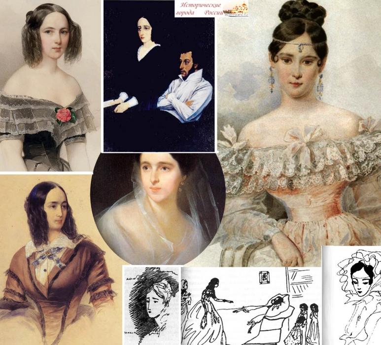 История любви пушкина и натальи гончаровой стрижка для женщины 40 лет фото