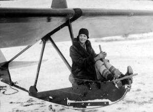 American Aviatrix Amelia Earhart