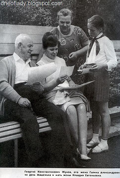 Любимая дочь Жукова и Галины Семеновой родилась в 1957-м, ее отец был